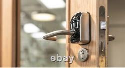 Paxton Net2 Paxlock Pro En Noir 900-100bl Pour Les Portes Internes Contrôle D'accès