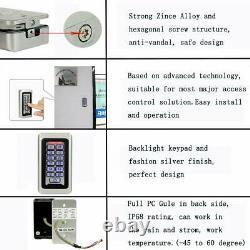 Rfid 125khz Carte Em Contrôleur D'accès Autonome Clavier Pour 5door-entry-system