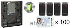 Rosslare Access Control Four Door Set Ac825ip Avec 100 Cartes À Clapet