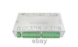 Sebury Ic104 4 Porte 12v DC Gate Access Control Board Tcp/ip/lan Alluminum Case