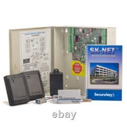 Securakey Etag Eaccess 2 Kit Système De Contrôle D'accès Pour Deux Portes
