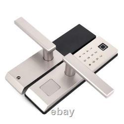 Serrure D'empreintes Digitales Mot De Passe Carte IC M1 Déverrouillage Des Clés Contrôle D'accès À La Porte De Sécurité