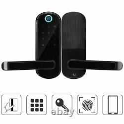 Serrure De Porte Bluetooth App Doigtprint Clé De Mot De Passe Pour Le Contrôle D'accès De Sécurité