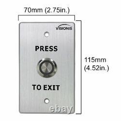 Système D'entrée De Porte 600lbs Maglock Avec Vis-3002 Clavier Et Kit Récepteur Sans Fil