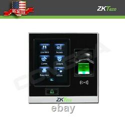 Système De Contrôle D'accès À La Porte Fingerprint Biométrique Zkteco Bluetoot Zk Sf400 Entrée