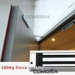 Système De Contrôle D'accès D'entrée De Porte, Serrure Magnétique Électrique 1200lb 500kg, 2 Télécommande