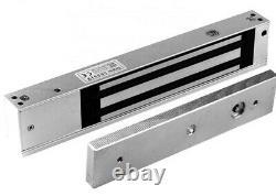 Système De Contrôle D'accès, Entrée De Porte Electric Magnetic Lock 600lb + L Z Bracket USA