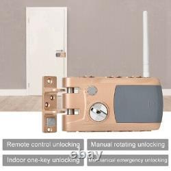 Verrouillage De Porte Télécommande Verrouillage Électronique Sans Clé Sécurité À La Maison Contrôle D'accès