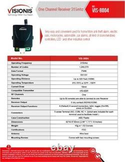 Visionis 5209 Smartphone Access Control Inswinging Door 300lbs Maglock Security