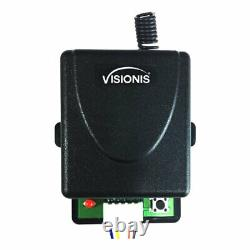 Visionis 600lbs Double Door Access Control With Wireless Receiver And Remote
