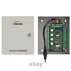 Visionis Fpc-7308 Commande D'accès À Quatre Portes Avec Frappe Électrique Et Clavier / Lecteurs