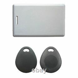 Visionis Système De Contrôle D'accès Maglock Avec Slim Metal Touch Rfid Keypad Reader