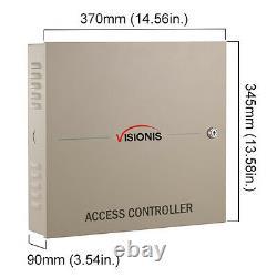 Visionis Vs-axess-4dlx Contrôleur Du Panneau De Commande D'accès Réseau Quatre Portes Tcp/ip