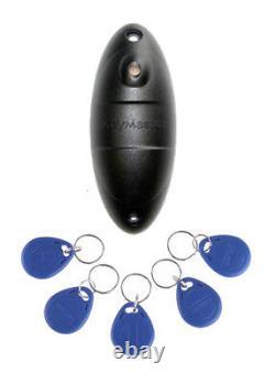 Weatherproof Ip68 Stand Alone Proximity Access Control Door Entry Reader 30 Utilisateur