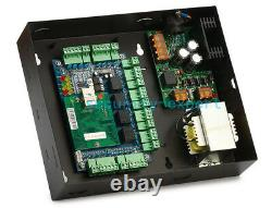 Wiegand Tcp/ip Access Control Panel Board Kit Ac230v Metal Power Box Pour 4 Portes