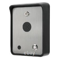 Wireless Gsm Audio Intercom Alarme Pour Système De Contrôleur D'accès De Porte Étanche