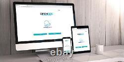 Zemgo Smart Wifi Door Access Control System Avec Double Door Maglock + Keypad