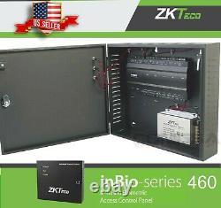 Zkteco Inbio 460 Contrôleur D'accès 4 Porte Multifonction Board Tcpip Rs485