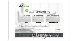 Zkteco Inbio 460 Pro Access Control 4 Porte, Lecteurs Biométriques Zk, Tcpip