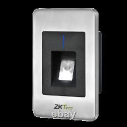 Zkteco Inbio 460 Pro Access Control Kit 4 Porte + Lecteurs Biométriques Zk, Tcpip