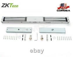 Zkteco Maglock Double 600lbs, Serrure Magnétique Pour Contrôle D'accès Ou Porte D'entrée USA